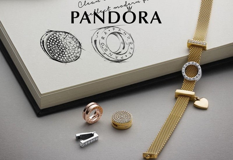 новая коллекция Pandora отражение